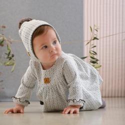 Vestido bebe familia Camelia Tutto Piccolo