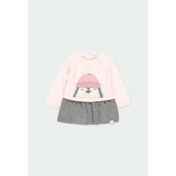 "Vestido tricotosa ""pingüino"" bebé Boboli"