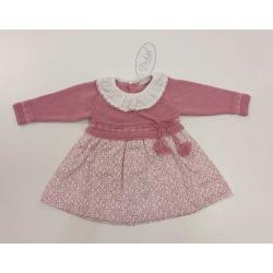 Vestido combinado bebe niña Dr.Kid