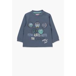 Camiseta punto liso de bebe niño