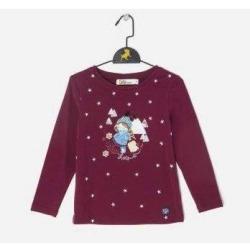 Camiseta niña mini estrellas