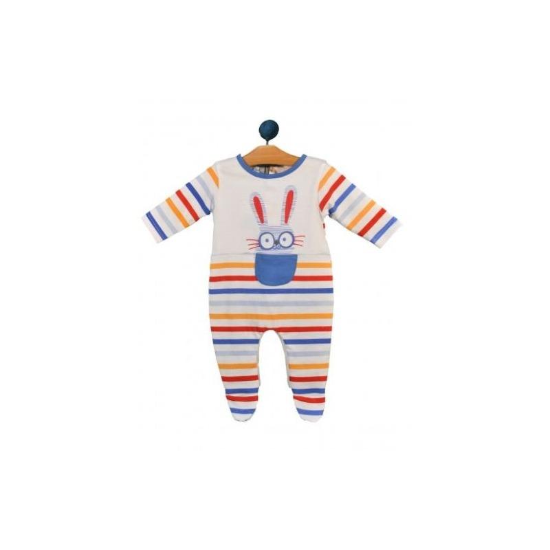 Pelele ml conejito rayas bebe - Moda Infantil Andy 0c8763cd5672