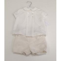 Conjunto camisa bugaty bebe niño