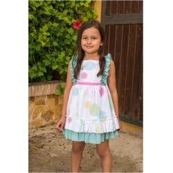 Vestido tirantes infantil niña