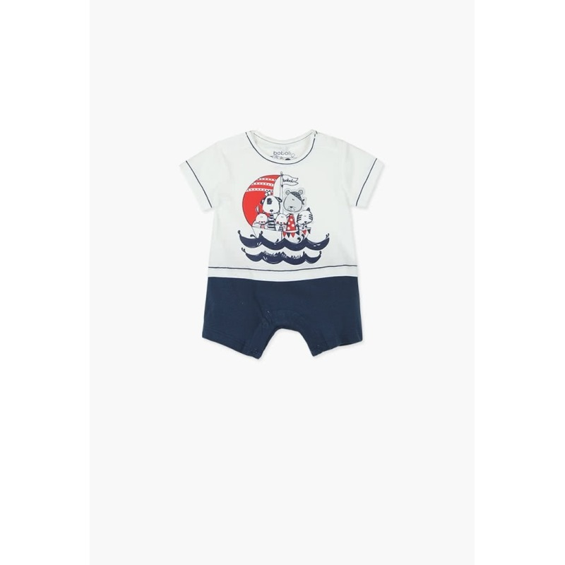 d5feb2903 Pelele punto bebe niño marinero - Moda Infantil Andy