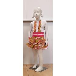 Conjunto flamenca niña estampado