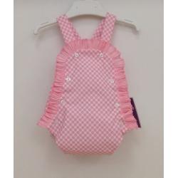 Ranita bebe flamenco rosa