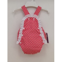 Ranita bebe flamenco rojo