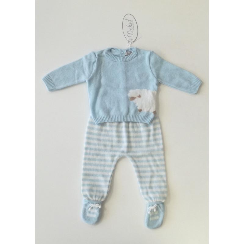 Conjunto bebe niño rayas - Moda Infantil Andy 2a98962b9e58