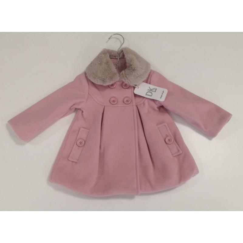 Abrigo paño bebe niña - Moda Infantil Andy 170ec852a7c