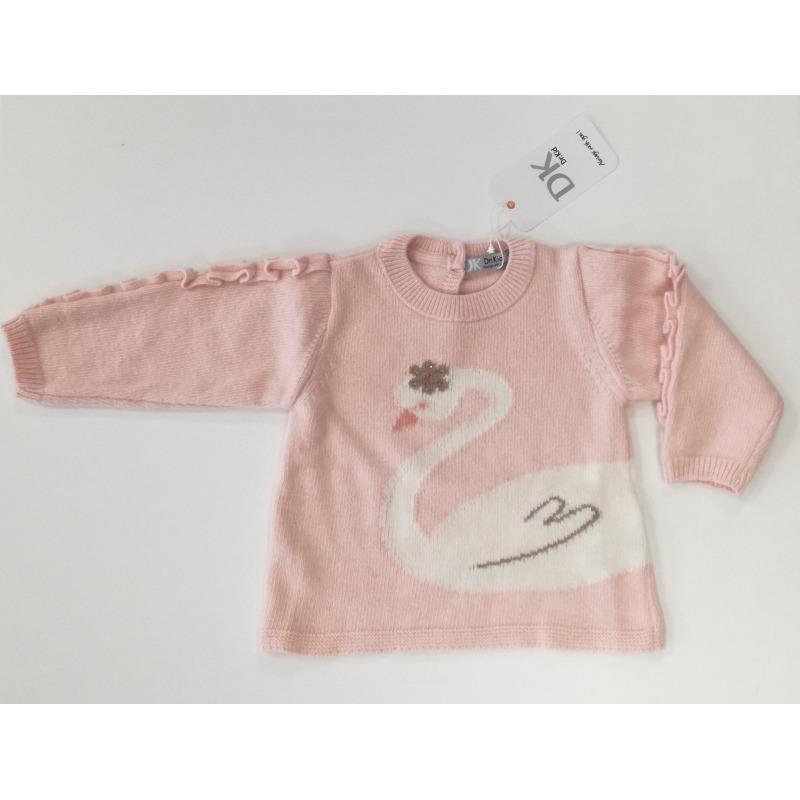 Jersey bebe niña cisne - Moda Infantil Andy 27c291ff7b3
