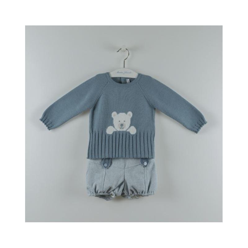 Conjunto niño osito Martin Aranda - Moda Infantil Andy 22934e0986c