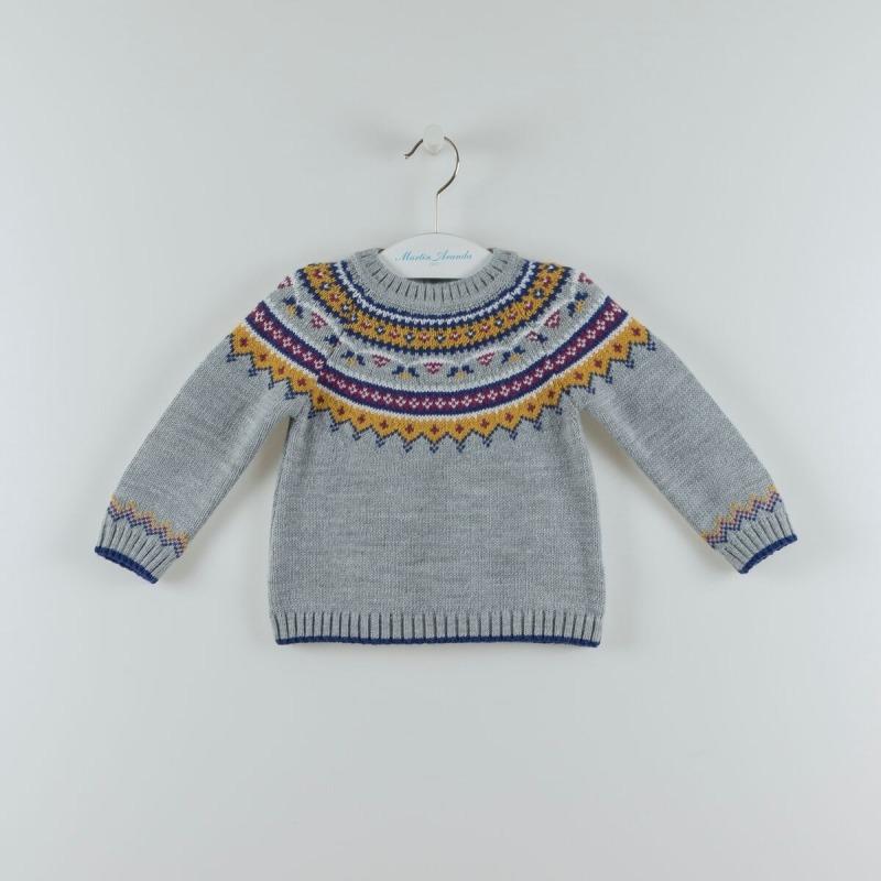 Jersey niña cenefas Martin Aranda - Moda Infantil Andy 1581c0e2098