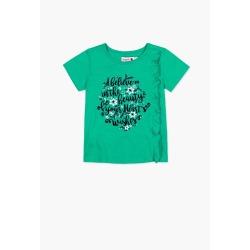 Camiseta punto flame de niña