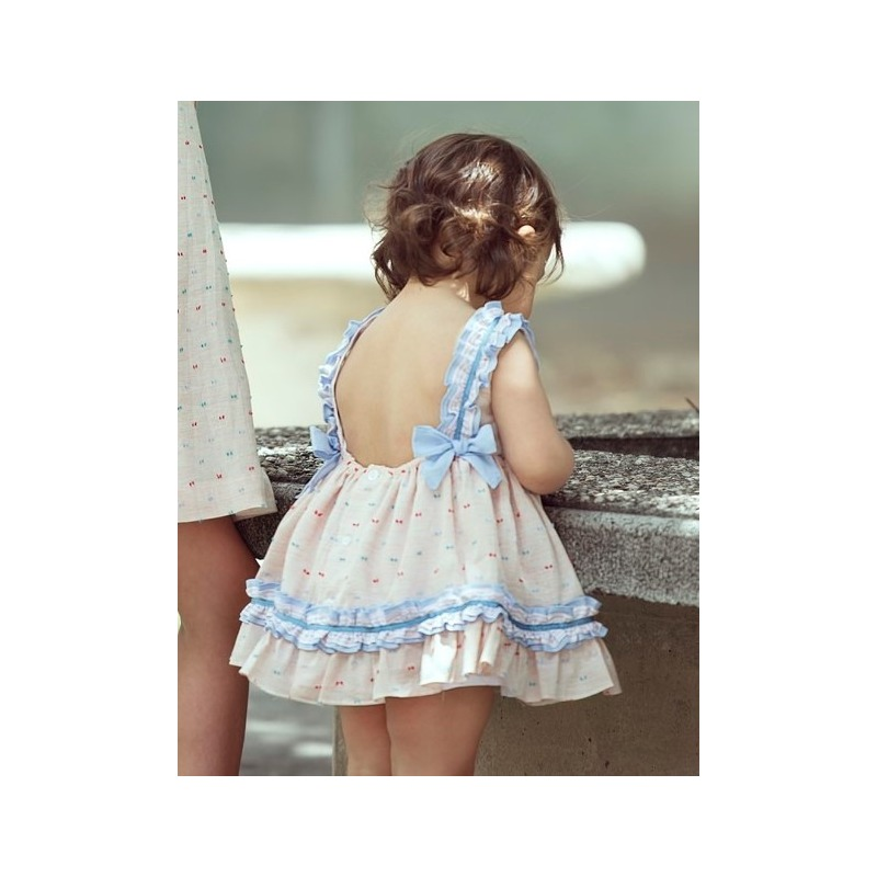 339431c37 Vestido bebe Miranda - Moda Infantil Andy
