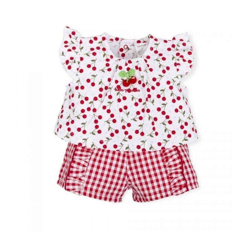 edb3cbb4b Conjunto cuadros niña Tutto Piccolo - Moda Infantil Andy