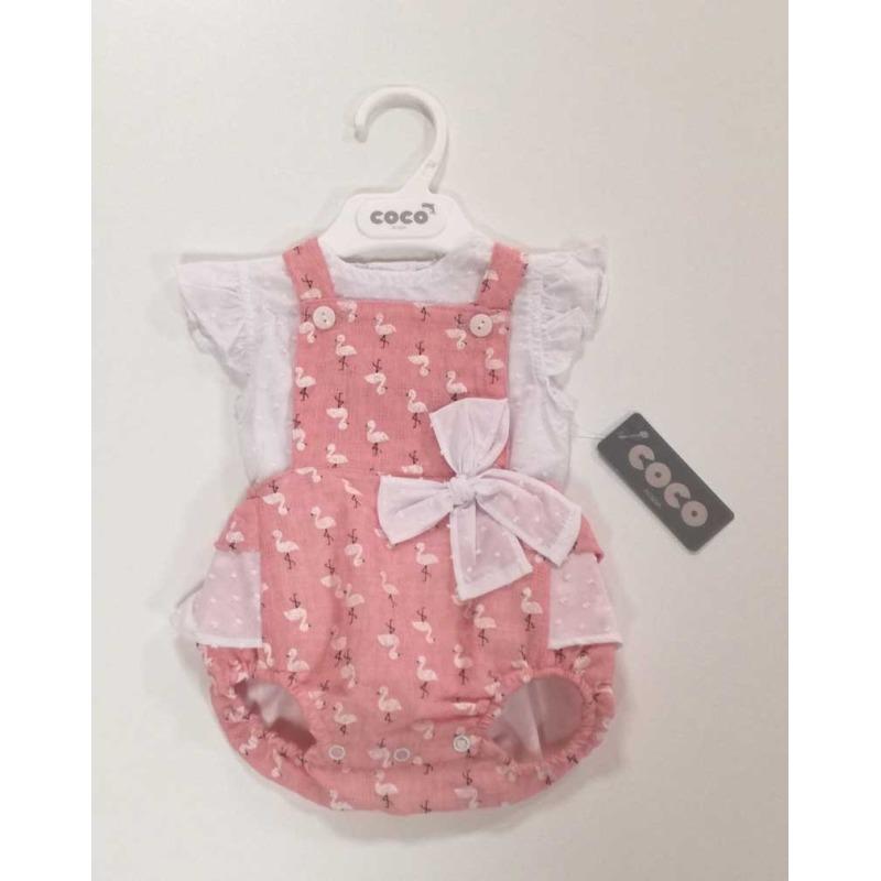 b68984c1c Peto con camisa bebe niña - Moda Infantil Andy