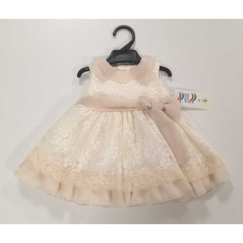 a50bad2d4 Vestido ceremonia bebe niña - Moda Infantil Andy
