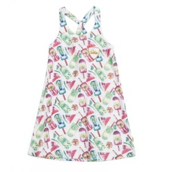 Vestido tirantes niña lois mini
