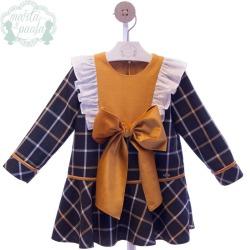 Vestido Infantil Familia Paloma