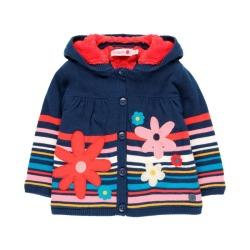 Chaqueta tricotosa de bebé niña