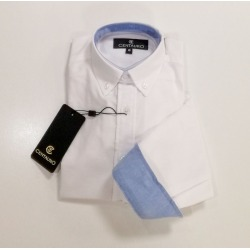 Camisa niño blanca Centauro
