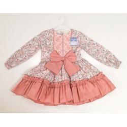 Vestido infantil flores ceyber
