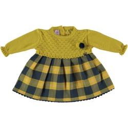 Vestido bebe cuadros Juliana