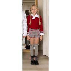 Conjunto niña short y jersey Nekenia
