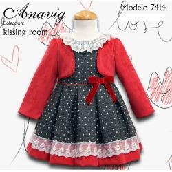 Vestido infantil Anavig