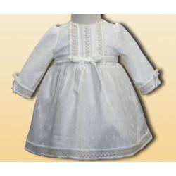Vestido bebe con capota ceremonia Anavig