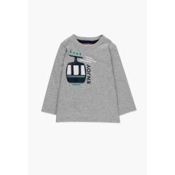 Camiseta punto liso bebe niño
