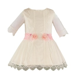 Vestido infantil ceremonia Miranda