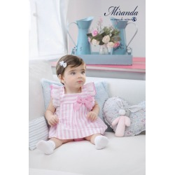 Vestido bebe con braguita Miranda