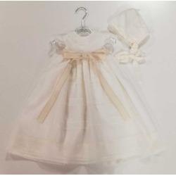 Vestido acristianar bebe Candela