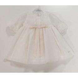 Vestido bebe ceremonia Candela