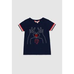 Camiseta punto elástico niña Boboli