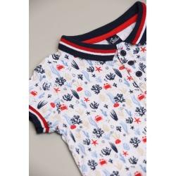 Conjunto pantalon y polo bebe niño