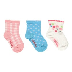 Pack calcetines de bebé niña Boboli