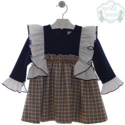 Vestido infantil Familia Arlequin