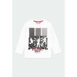 """Camiseta """"rock in concert"""" niño Boboli"""