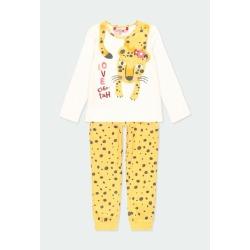 Pijama animal print de niña Boboli