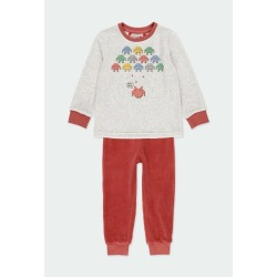 "Pijama terciopelo ""games"" niño Boboli"