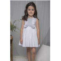 Vestido infantil lunares