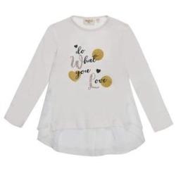 Camiseta punto combinado niña ubs2