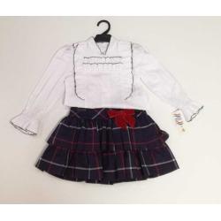 Conjunto falda y blusa Anavig
