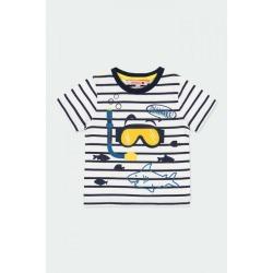Camiseta punto tiburones bebé niño Boboli