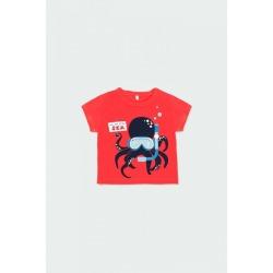 Camiseta punto pulpo bebé niño Boboli