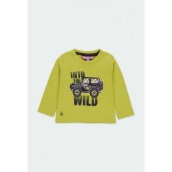 Camiseta punto niño Boboli