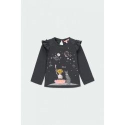 Camiseta punto liso bebé niña Boboli